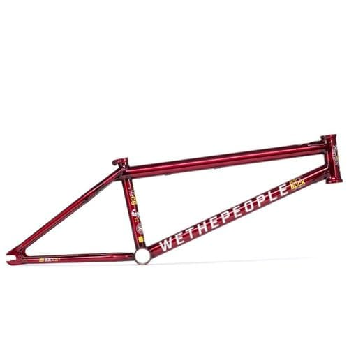 """We The People Buck Frame Translucent Red 20.75"""" TT"""